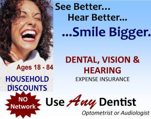 dental / vision / hearing insurance